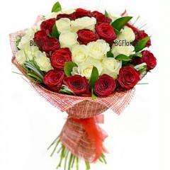 Онлайн поръчка на букети от рози с доставка в София