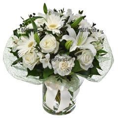 Поръчка на букет от цветя в София и региона