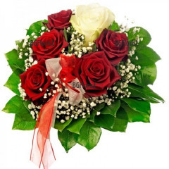 Доставка на цветя и букет от рози в София