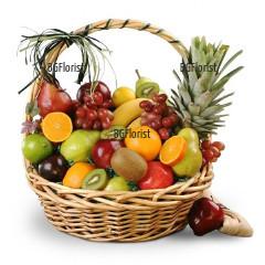 Доставка на кошница с плодове