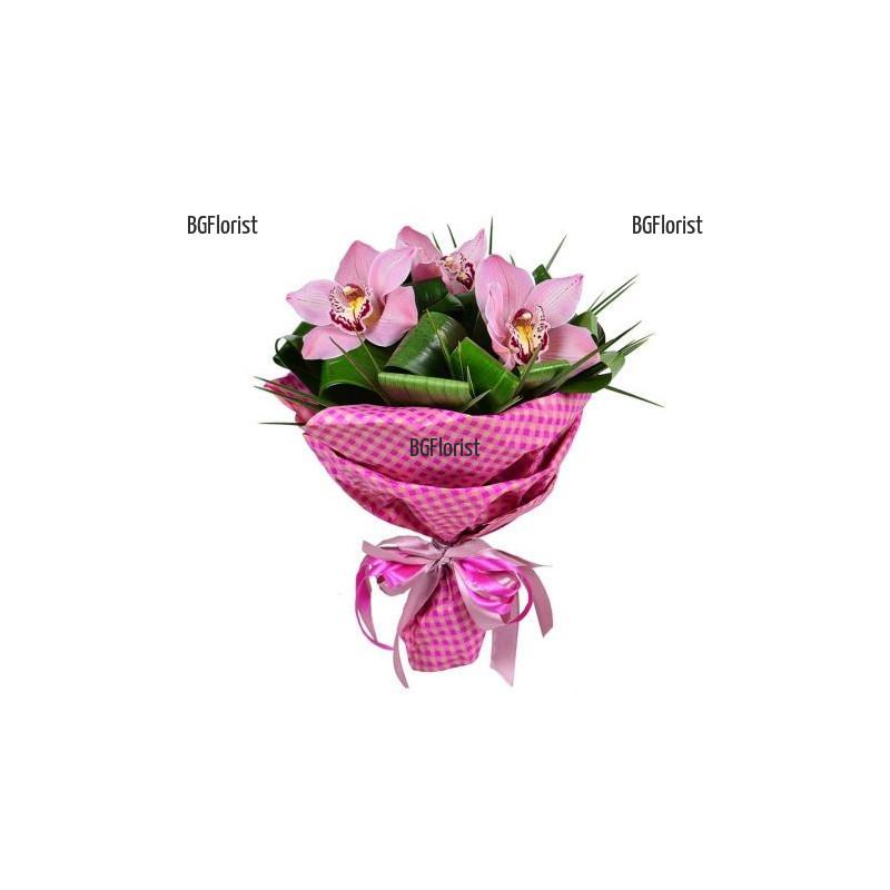 Онлайн поръчка на букет от орхидеи за София
