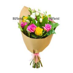 Онлайн поръчка на букет от цветя Свежест