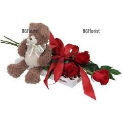 Онлайн поръчка на цветя и подаръци за романтичен повод