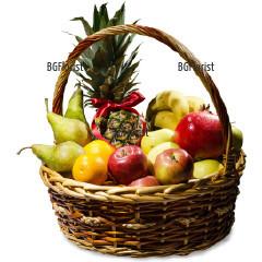 Доставка на кошница с плодове Плодова сензация