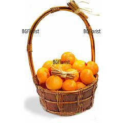 Доставка на кошница с портокали