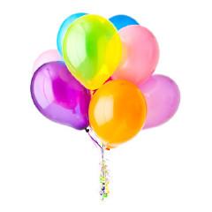 15 балона с хелии